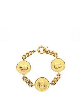 Elizabeth bracelet in gold plated brass
