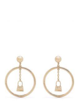 Gold L'anneau Chiquito earrings