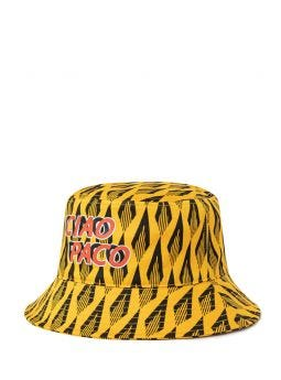 Yellow Ciao Paco bucket hat