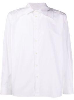 Camicia bianca con colletto alla francese