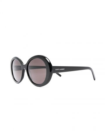 SL 419 round pillowed butterfly sunglasses