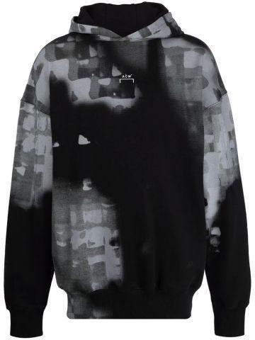 Black sweatshirt with print