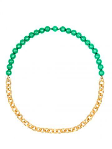 Venus green necklace Acchitto x Gente Roma