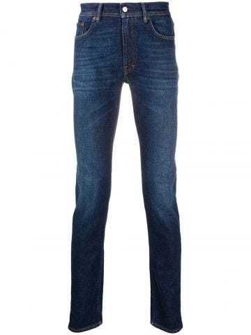 Blue organic cotton jeans