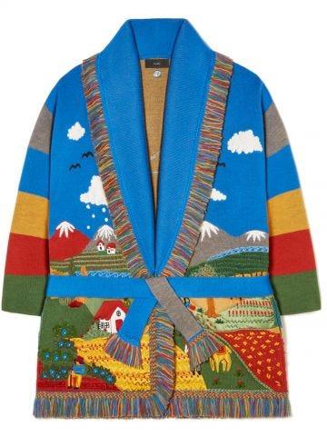 Land Of Dreams Icon Cardigan multicolor