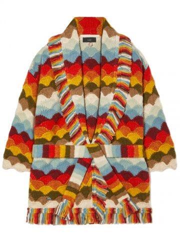 Rainbow Mountains Cardigan Multicolor