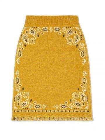 Yellow Bandana Skirt