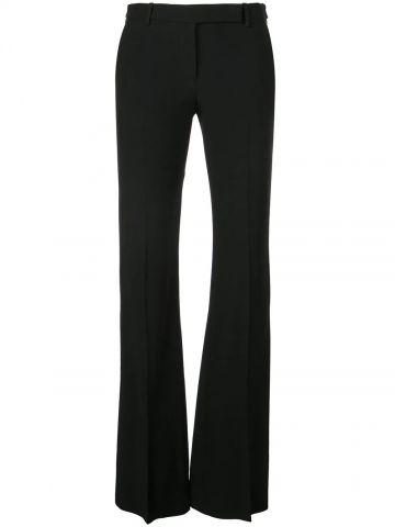 Black Narrow Bootcut Trousers
