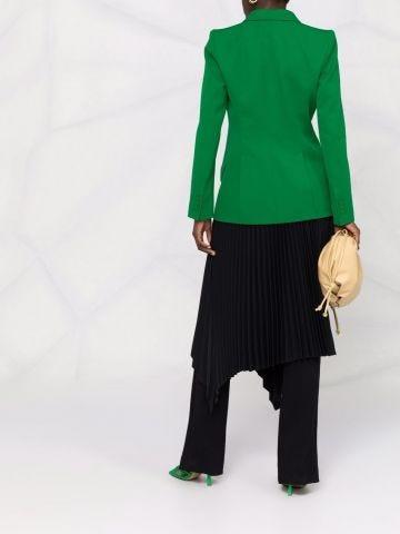 Green wool tailored jacket