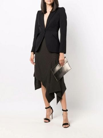 Black wool tailored jacket