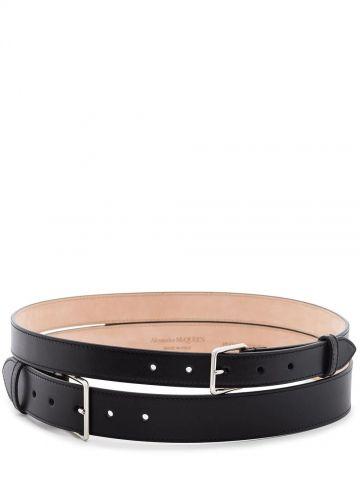 Black Double Belt