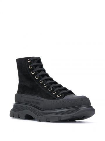 Black Tread Slick boots