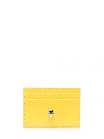 Yellow card holder