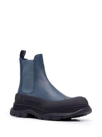 Blue Tread Slick Boots