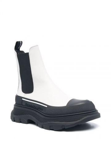 White Tread Slick boot