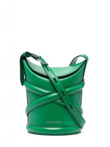 Large green The Curve bag