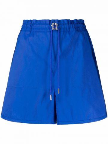 Blue Polyfaille Shorts