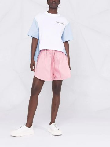 Pink Polyfaille Shorts