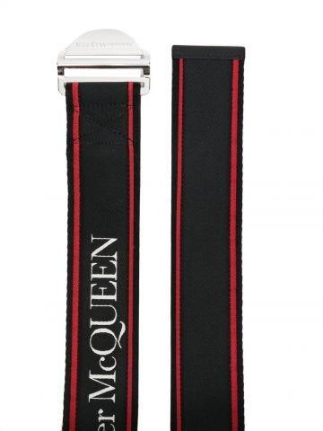 Black belt with logo
