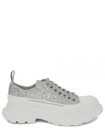 Crystal glitter shoes