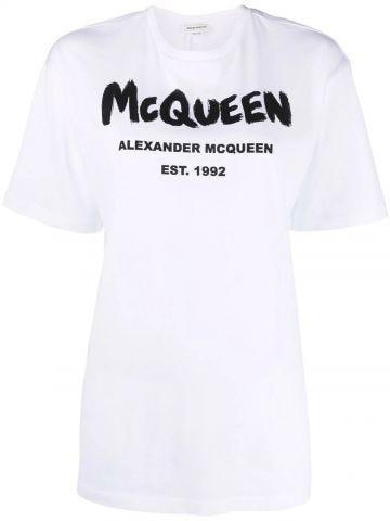 White McQueen Graffiti T-Shirt