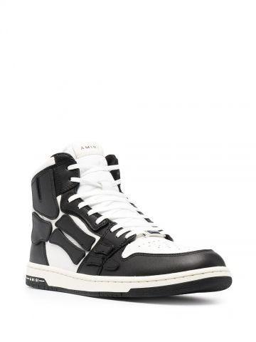 Sneakers alte Skel bianche e nere