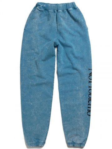 Blue sweatpants No Problemo