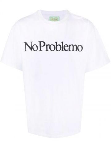 White No Problemo T-shirt