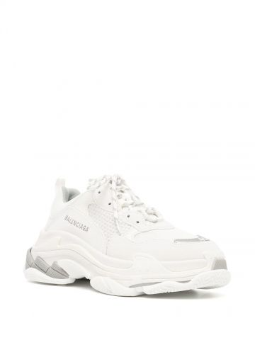 Triple S white sneakers