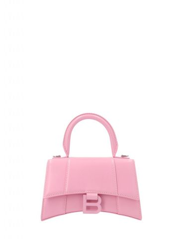 Hourglass Small Top Handle Bag in pink