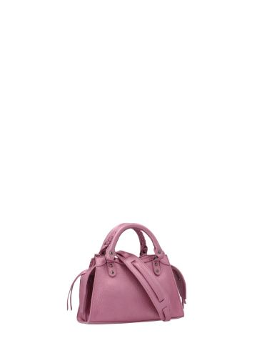 Neo Classic Mini Top Handle Bag in pink