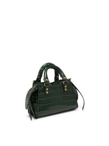 Green Neo Classic Nano top handle bag