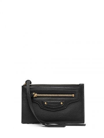 Neo Classic Long Card Holder in black
