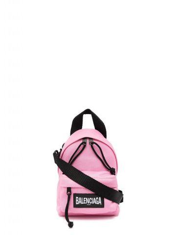 Pink mini one-shoulder backpack