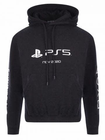 PlayStation Fitted Hoodie in black