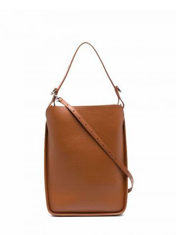 North-South small brown Tool 2.0 tote bag