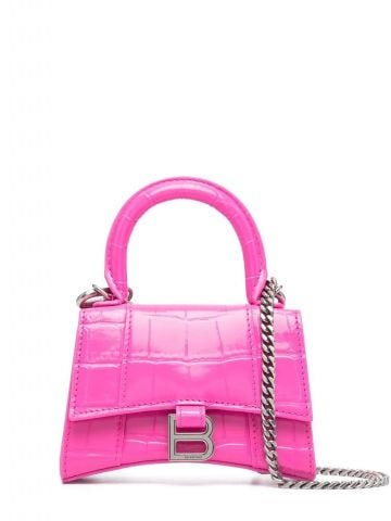 Borsa  Hourglass mini rosa