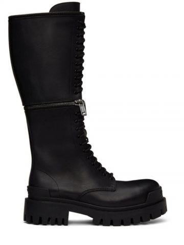 Master 20mm Boot in black leather
