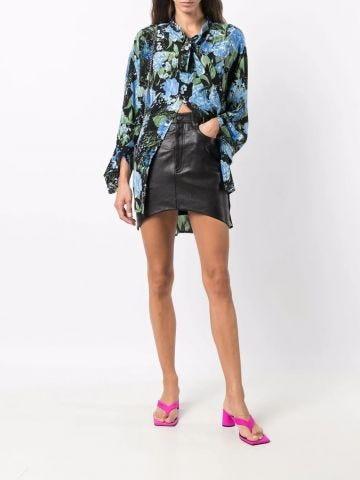 Black Hourglass miniskirt