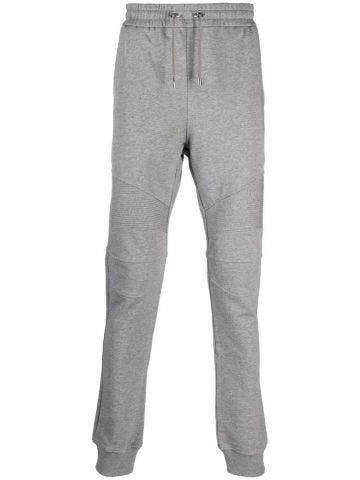 Grey print sport pants