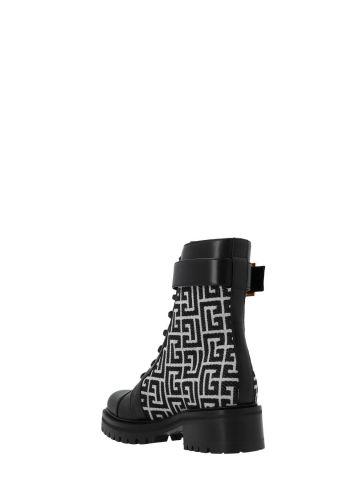 Bicolor jacquard Ranger Romy ankle boots