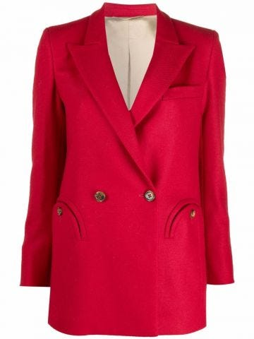 Red Nikita double-breasted jacket
