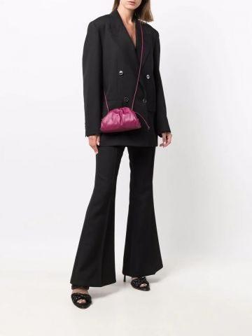 Purple Pouch mini crossbody bag