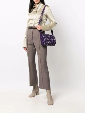 Purple Padded Cassette bag