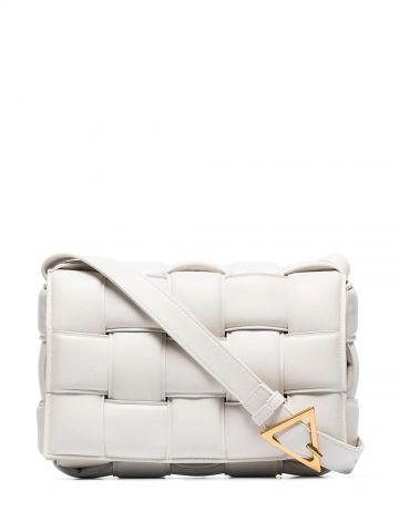 White Padded Cassette bag