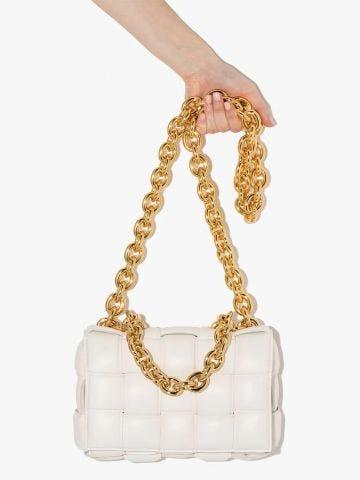 White Chain Cassette bag