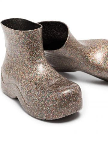 Glitter Puddle ankle boots