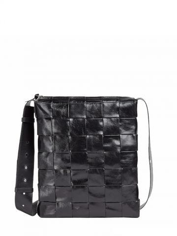 Black Cassette crossbody bag