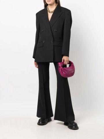Fuchsia leather Jodie Mini bag