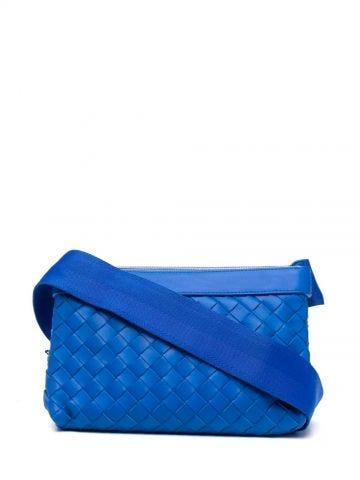 Blue leather Classic Hidrology bag